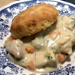 Cream of Chicken and Biscuits image