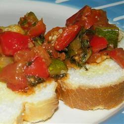 Veggie Delight on Garlic Bread Seattle2Sydney
