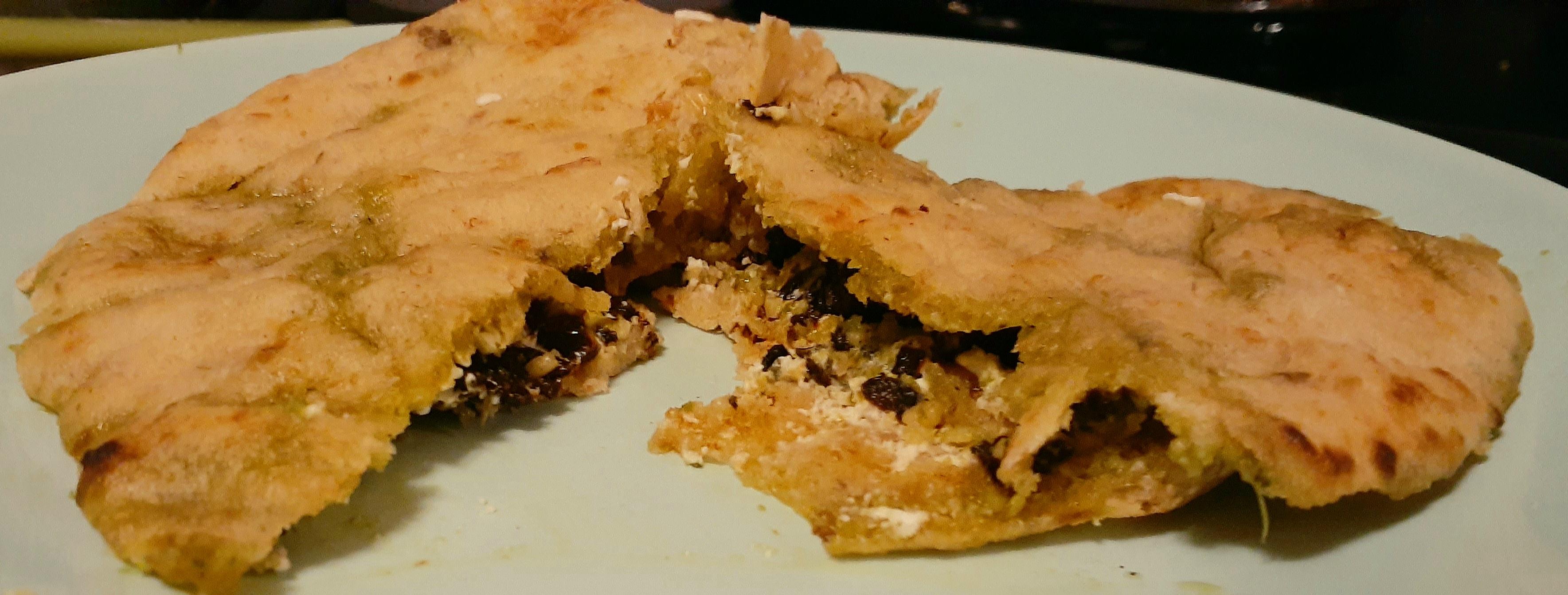 Warm Goat Cheese Sandwiches Elizabeth Currier