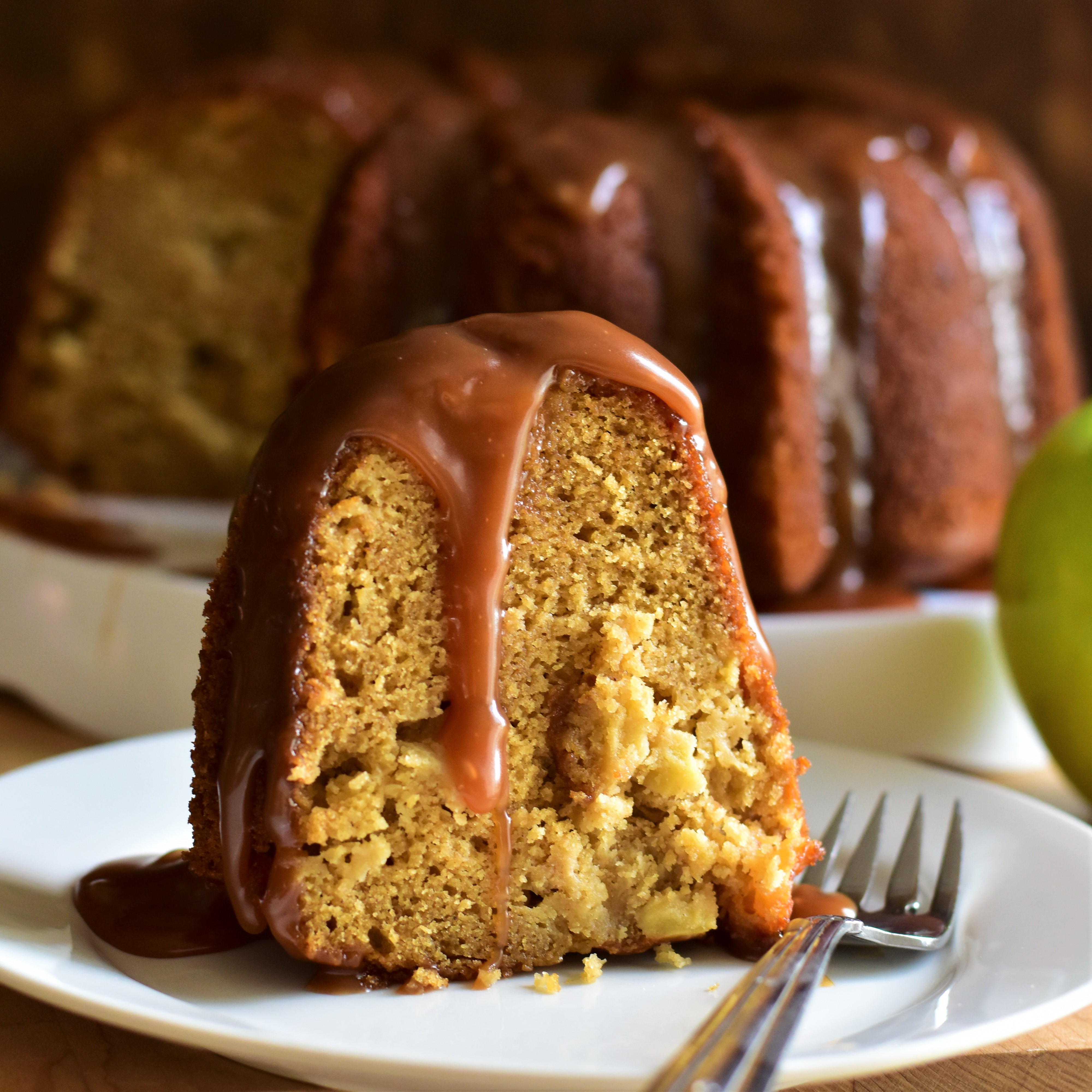 Caramel Apple Bundt® Cake