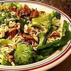 crunchy romaine salad recipe