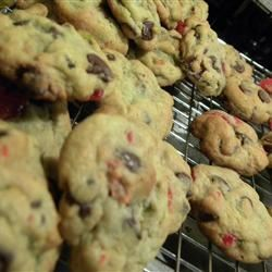 Spumoni Chocolate Chip Cookies witchywoman