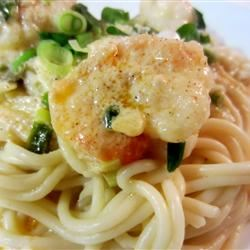 Crayfish or Shrimp Pasta pelicangal