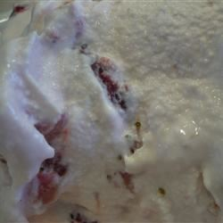 Easy, Eggless Strawberry Ice Cream