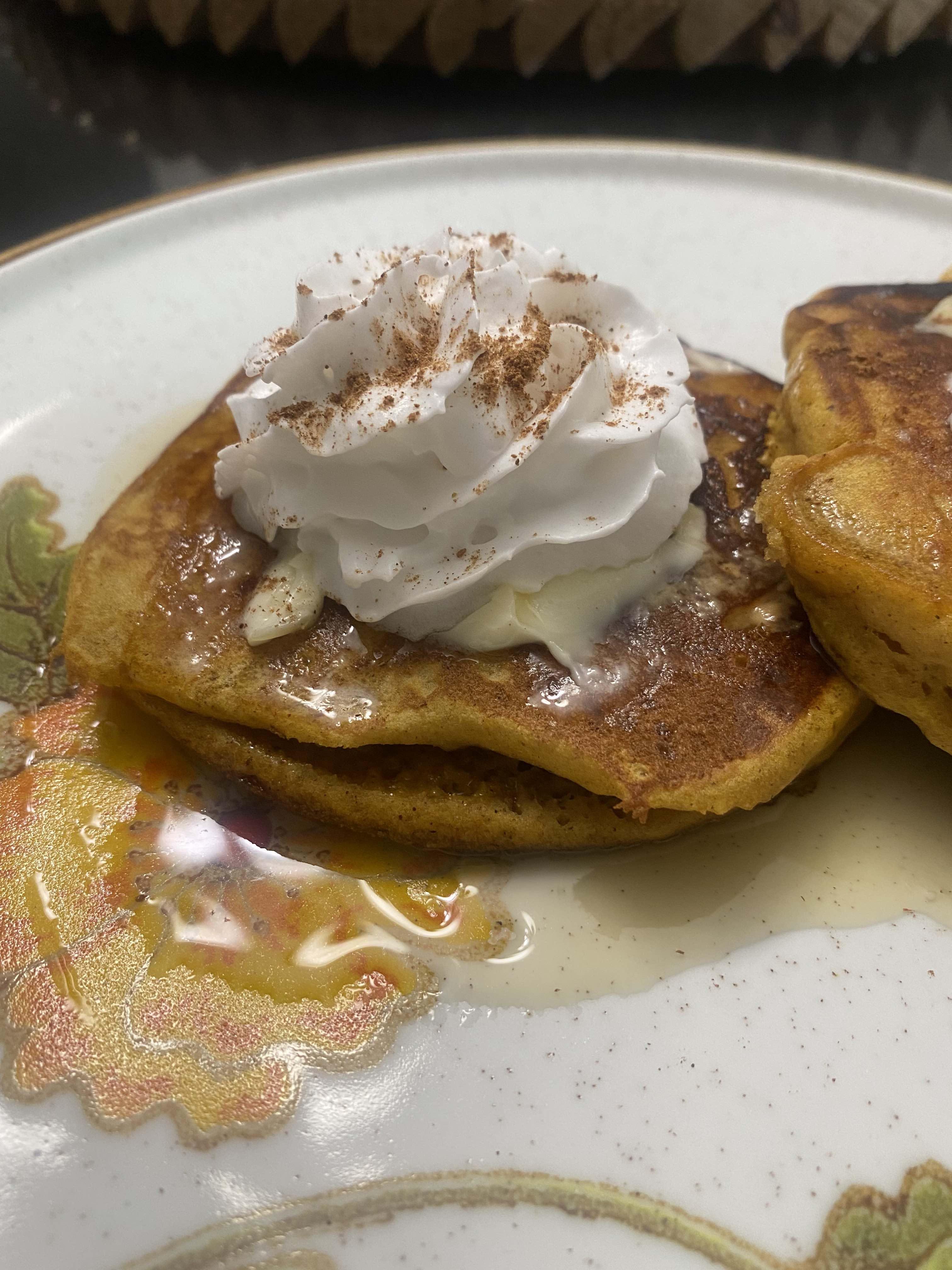 Pumpkin Pancakes Tracy DeGraaf