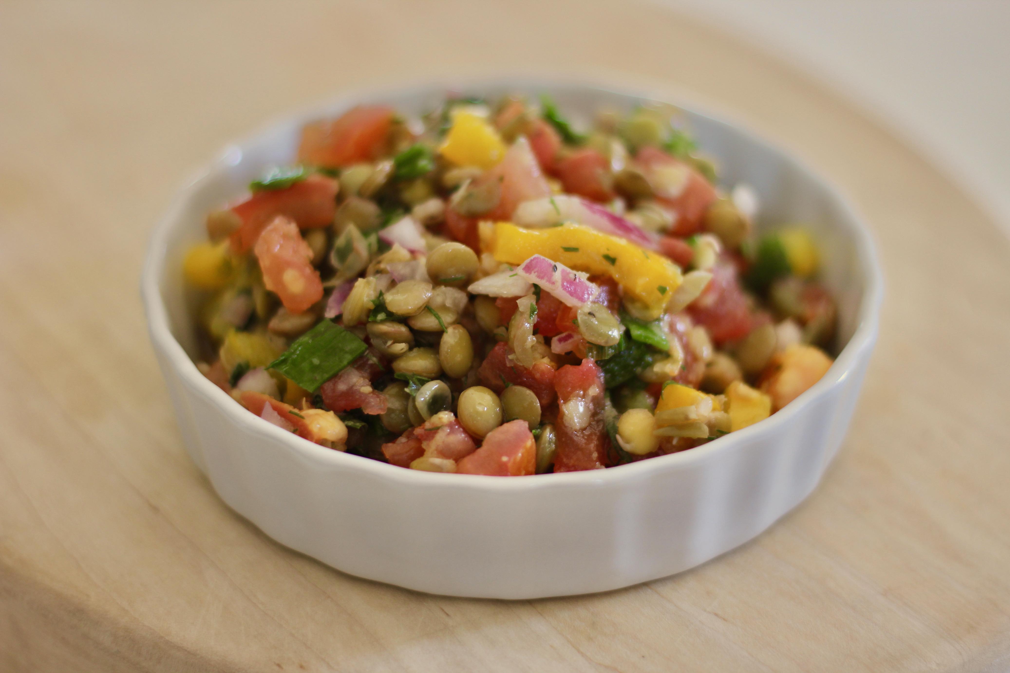 Vegan French Lentil Salad