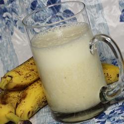 Milk Banana Smoothie Paula