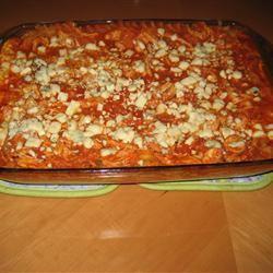 Buffalo Cheesy Chicken Lasagna cbate3658