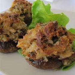 Savory Crab Stuffed Mushrooms naples34102