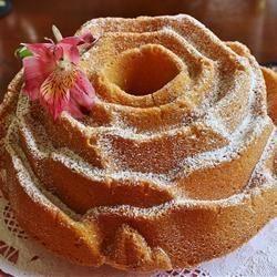 Rose Petal Pound Cake