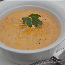 Reva's Potato Cheese Soup