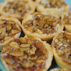 Swedish Toscas (Swedish Almond Tarts)