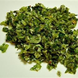 Garlic Basil Spread Marianne