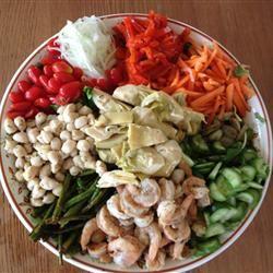 Shrimp Garden Salad Terra-Matris
