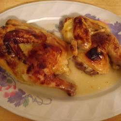 Honey Orange Cornish Hens