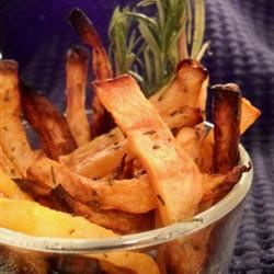 Rutabaga Oven Fries