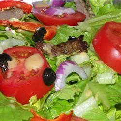 Blackened Steak Salad with Berry Vinaigrette Seattle2Sydney