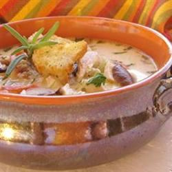 Wild Rice And Chicken Soup naples34102