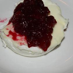 Panna Cotta with Berry Sauce