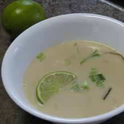 Authentic Thai Coconut Soup Michelle