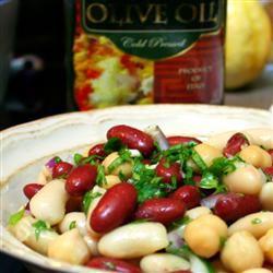 Mediterranean Three Bean Salad