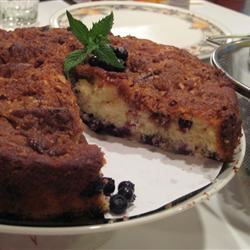 Blueberry Coffee Cake III Pudden Head