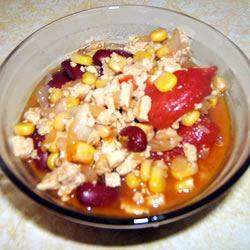 Stove Top Tofu Chili Gwynne Kloch