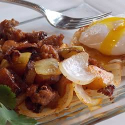 Sausage Hash With Apples & Sage
