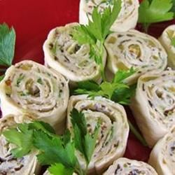 Mexican Cream Cheese Rollups Kathy Jenkins