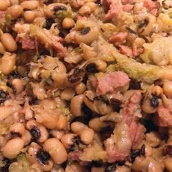 Lucky New Year's Black-Eyed Pea Stew