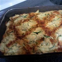 Zucchini Appetizer Squares