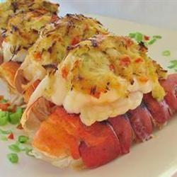 Crab Stuffed Lobster Rayna