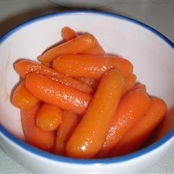 Vanilla Glazed Carrots Cat