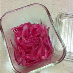 Pickled Grilled Red Onions Amygodden