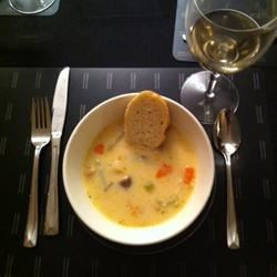 Slow-Cooker Fish Chowder KathrynG