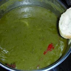 Spinach and Buttermilk Soup