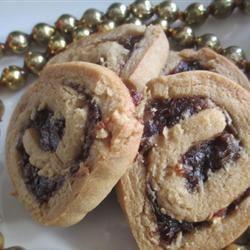 Date Nut Pinwheel Cookies I AuntE
