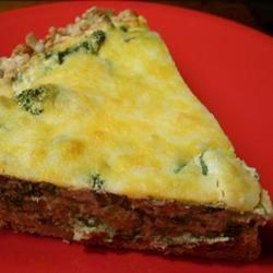 Broccoli Cheese Pie
