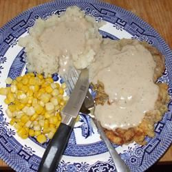 Country Fried Steak and Milk Gravy Katrina