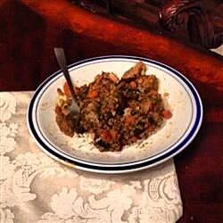 mediterranean lamb and lentil stew recipe