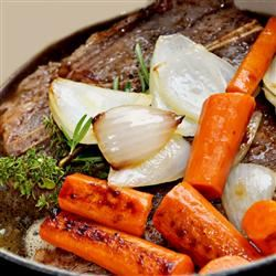 Stove Pot Roast With Mashed Potatoes
