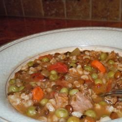 Beef and Lentil Soup Sharyn