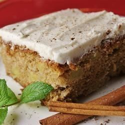 Spicy Apple Cake