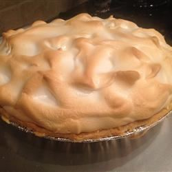 Orange Meringue Pie Valerie Ulloa Nickerson