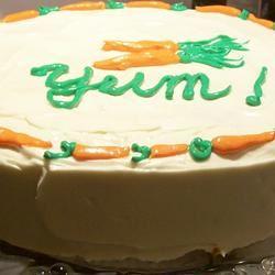 Carrot Walnut Cake Pam Ziegler Lutz
