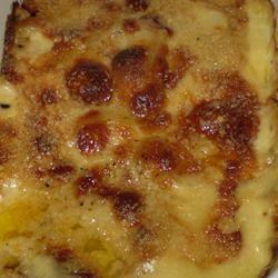 Three Cheese Garlic Scalloped Potatoes Janine