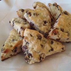 English Royalty Chocolate Chip Scones