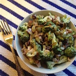 Best Baconless Broccoli Salad Cookin Up A Storm