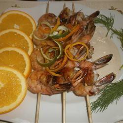 Spicy Shrimp Skewers Jer3m1ah