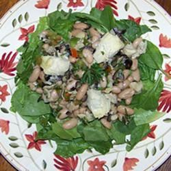 White Bean and Artichoke Salad natalie
